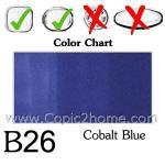 B26 - Cobalt Blue