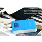 PowerBank - Golf GF-LCD04 10400 mAh - สีฟ้า