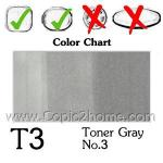 T3 - Toner Gray No.3