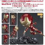 Nendoroid Iron Man Mark 43 Hero`s Edition & Ultron Sentries Set [Completed]