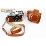 เคสกล้อง olympus OMD E-M10 ii สีน้ำตาล