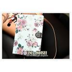 เคส iPad mini 1 / iPad mini2 - Emporer Vintage กุหลาบใหญ่ พื้นขาว