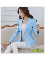 Pre เสื้อสูท blazer แฟชั่น ราคาถูก มีไซด์ S/M/L/XL/2XL/3XL
