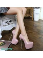 Pre รองเท้าคัทชู ส้นสูง แฟชั่น ราคาถูก มีไซด์ 34-40