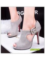 Pre รองเท้าคัทชู บู้ท ส้นสูง แฟชั่น ราคาถูก มีไซด์ 34-39