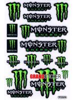 สติ๊กเกอร์ Monster 14