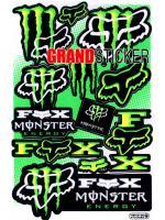 สติ๊กเกอร์ Monster 9