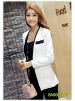 Pre เสื้อสูท blazer แฟชั่น ราคาถูก มีไซด์ S/M/L/XL/2XL