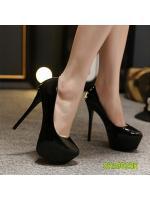 (พร้อมส่ง) รองเท้าคัทชู ส้นสูง แฟชั่น ราคาถูก มีไซด์ 39