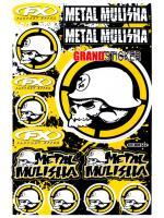 สติ๊กเกอร์ Metal Mulisha MM 562