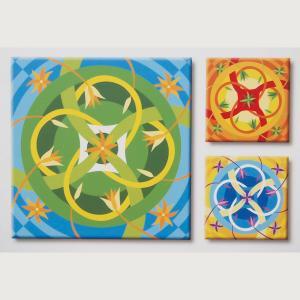 ภาพระบายสี Mandala ฝึกสมาธิ TM023