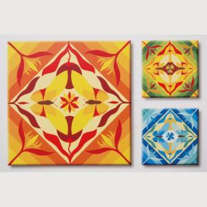 ภาพระบายสี Mandala ฝึกสมาธิ TM018