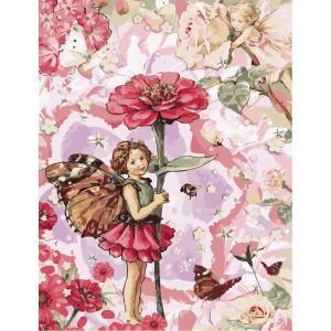 """MMC069 ภาพระบายสีตามตัวเลข """"นางฟ้าแห่งดอกไม้"""""""