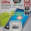 MicroSD Sandisk Ultra 64GB 48MB/s (320X) No Adapter (SDSQUNB_064G_GN3MN)
