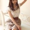 (พร้อมส่ง)ชุดเดรส น่ารัก สวยใส ผ้าคอตตอน แขนตุ๊กตา สีขาว-น้ำตาล