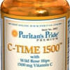 Puritan's Pride - Vitamin C Time-1500 mg 100 Tablets