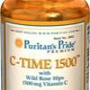 Puritan's Pride - Vitamin C Time-1500 mg 100 Tablets
