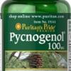 Puritan's Pride - Pycnogenol 100 mg 30 Softgels