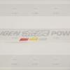 สติ๊กเกอร์มูเก้นพาวเวอร์ Sticker Mugen Power เกล็ดเงิน (5cm X 30cm)