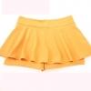 (พร้อมส่ง)กางเกงกระโปรง สีเหลืองมัสตาร์ด คุณภาพดี