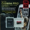 MicroSD Sandisk ExtremePro 64GB 95MB/s(633X)(SIS/Synnex)