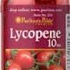Puritan's Pride - Lycopene 10 mg 100 Softgels