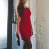 party dress360สีแดง
