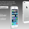 Bumper iPhone 5/5s Thin metal frame 0.7 mm