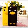เคส iPhone5/5s ซิลิโคน Little Duck [ไม่ย้วย ไม่มีคราบกาว]