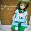 "AprilBDMSD5 : กระเป๋า สำหรับ ตุ๊กตา 16 "" (MSD,AMT,NANCY doll 16 "")"" Pimwaradda's Craft """