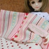 May59.pack1 : ผ้าจัดเซตคู่ผ้าสั่งจากอเมริกา (27x45 cm) +ผ้าซื้อในไทย (50x55cm)