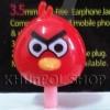 จุกปิดป้องกันฝุ่นแบบมีไฟกระพริบ Angry Birds