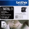 BROTHER INK CARTRIDGE LC-567XLBK สีดำ