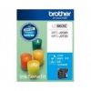 BROTHER INK CARTRIDGE LC-663C สีฟ้า