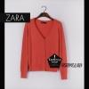 """Free size- เสื้อคลุมแขนยาวZara สีส้มอิฐ ใส่สบายใส่กับอะไรก็ได้จ้า อก 34"""" ยาว 23"""" (เสื้อคลุมพร้อมส่ง)"""