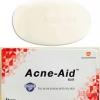 Acne Aid Bar ปริมาณสุทธิ 100 g. เป็นสบู่ล้างหน้าทำความสะอาดผิวหน้ามัน