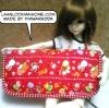 PWHM58.me6 : Handmade wallet ^^ ขนากใบ4.5 x8 นิ้วค่ะ มี1 ใบค่ะราคาเบาๆกับยุคนี้ค่ะ