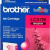 BROTHER INK CARTRIDGE LC-57M สีแดง