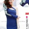 party dress205สีน้ำเงิน