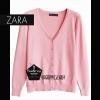 """Free size-เสื้อคลุมZara สีชมพูนู้ด ผ้านิ่มมากกก อันนี้ นำเสนอ จ้า สวยใส่สบาย อก 36"""" ยาว 23"""" (เสื้อคลุมพร้อมส่ง)"""