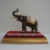 ช้างไทยL65กรอบทองลายไทย 16x28x27cm. S235