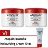 แพคคู่ Atopalm Intensive Moisturizing Cream 100 ml/กระปุก (2 กระปุก) (ฟรี Atopalm Intensive Moisturizing Cream 10 ml. มูลค่า 179 บาท ) - สินค้านี้ส่งฟรี EMS