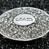 แป้นติดปุ่ม Start Engine D.A.D Diamond อลูมิเนียมเพชรล้อม