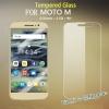 ฟิล์มกระจกนิรภัย Tempered Glass สำหรับ Moto M