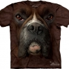 The Mountain Big Face Boxer Dog T-shirts