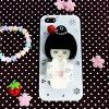 เคสมือถือ สาวน้อยกิโมโน มีกระจก ประดับเพชร สำหรับ iPhone 5 , 5S