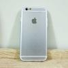 เคสไอโฟน 6พลัส/6Sพลัส ยาง สีเงิน