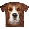 The Mountain Big Face Beagle Dog T-Shirts