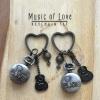พวงกุญแจนาฬิกาเซทคู่รัก Music of Love