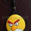 ที่ห้อยโทรศัพท์มือถือพร้อมจุกเสียบป้องกันฝุ่นไอโฟน Yellow Bird (Angry Birds)